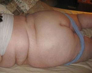 デブのエロい裸体