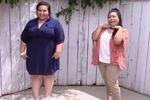 癒し系おデブちゃんの、夏のコーディネイト動画(プラスサイズ)