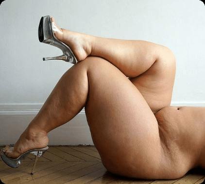 筋肉質な太り脹脛