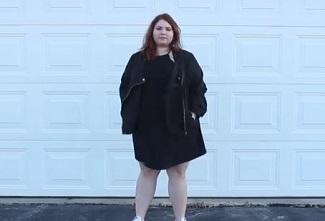 デブ女性のワンピースファッション