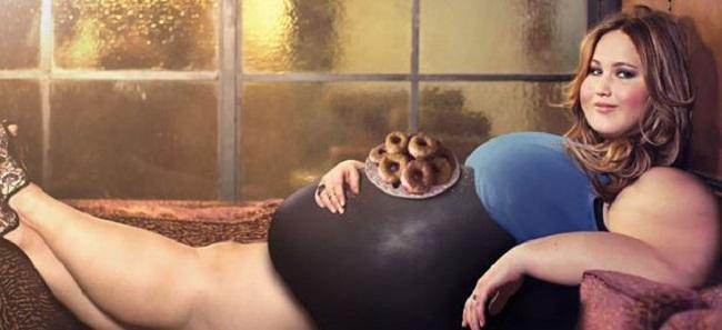 肥える美しいデブ女性