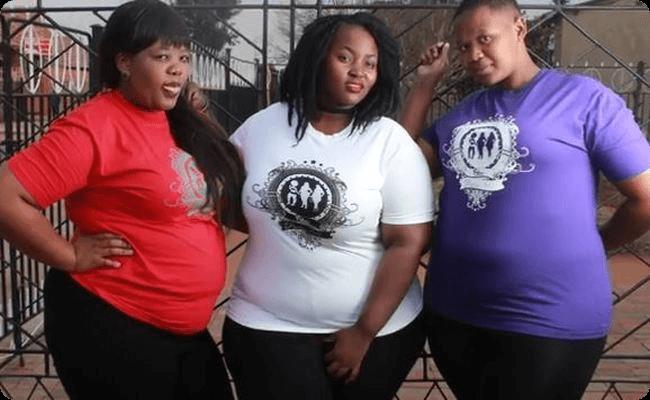 デブ女性のTシャツファッション