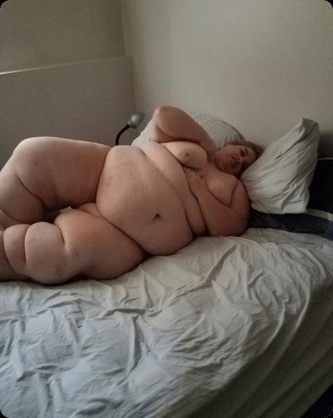強烈に太った女性