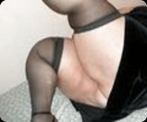 デブ主婦の足