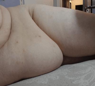 りんご体型のデブ女性