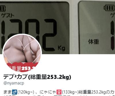 【デブ²カプ】総重量250キロ!デブ男性とデブ女性のセックス