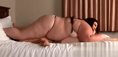 巨体女性の圧迫シックスナイン